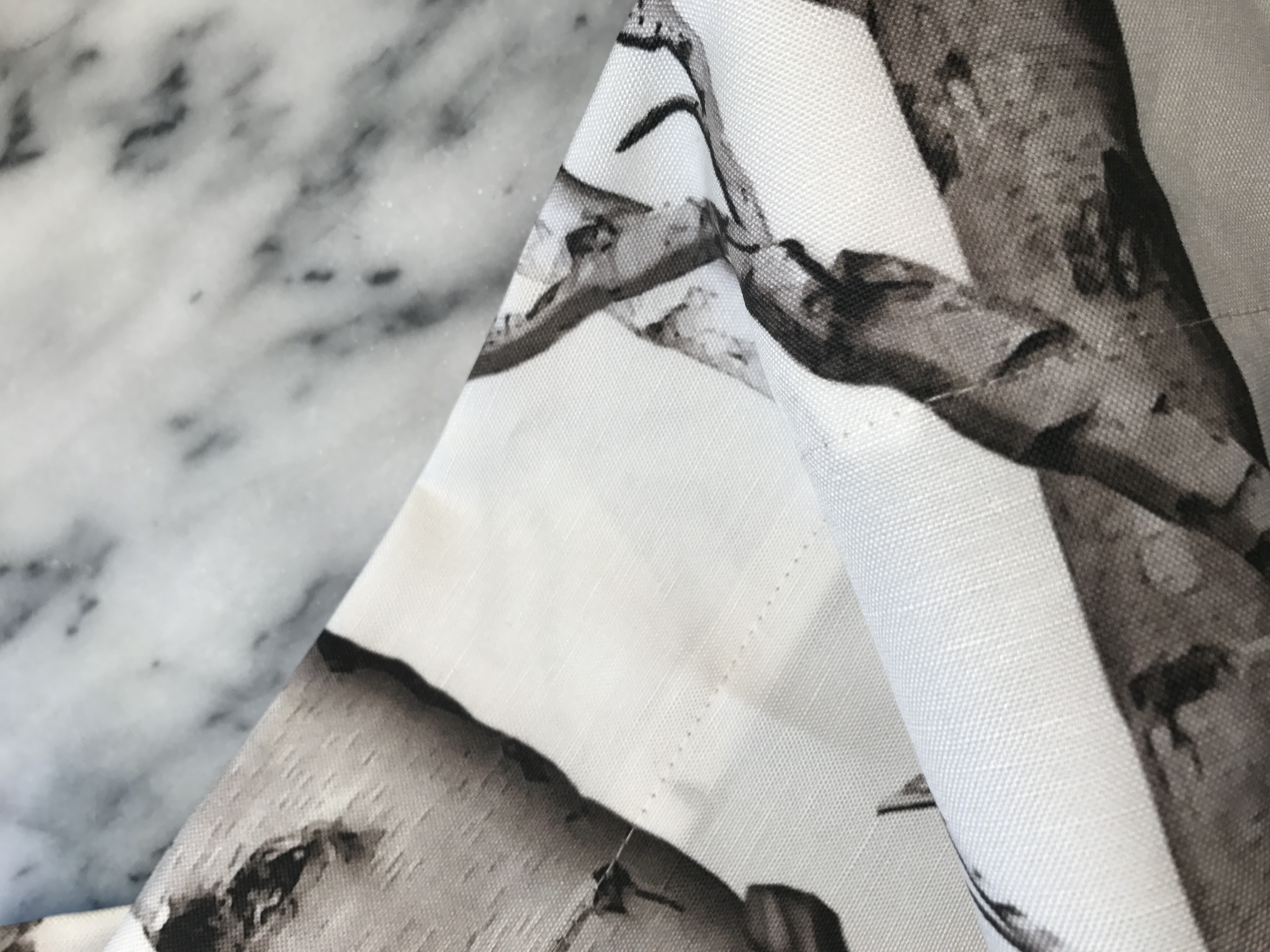 Birch Tree Fabric Window Panels - You now have a finished curtain panel repeat the same process for your second panel and you ll have a complete set of window treatments to awe and inspire