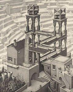 MC Escher's Waterfall