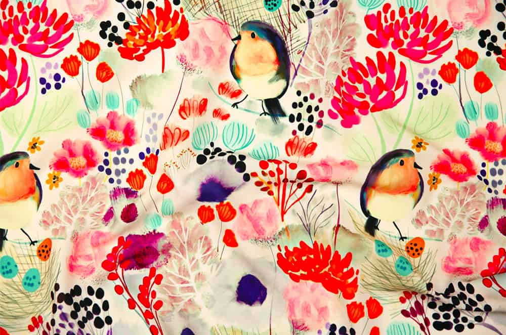 Nesting in Blooms by Susan Polston