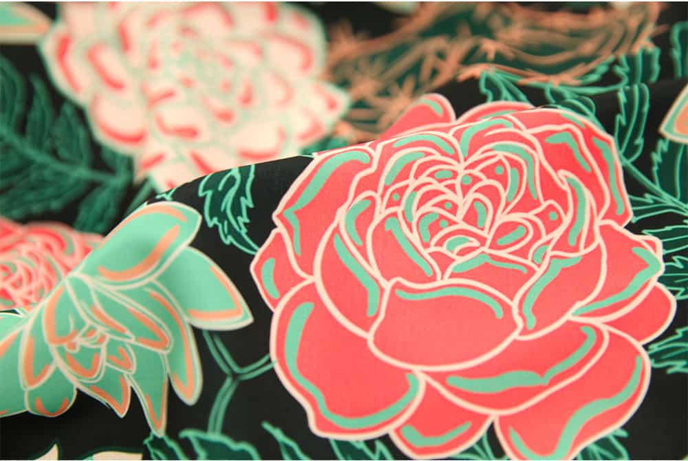 Succulents and Roses by Tory Sevas