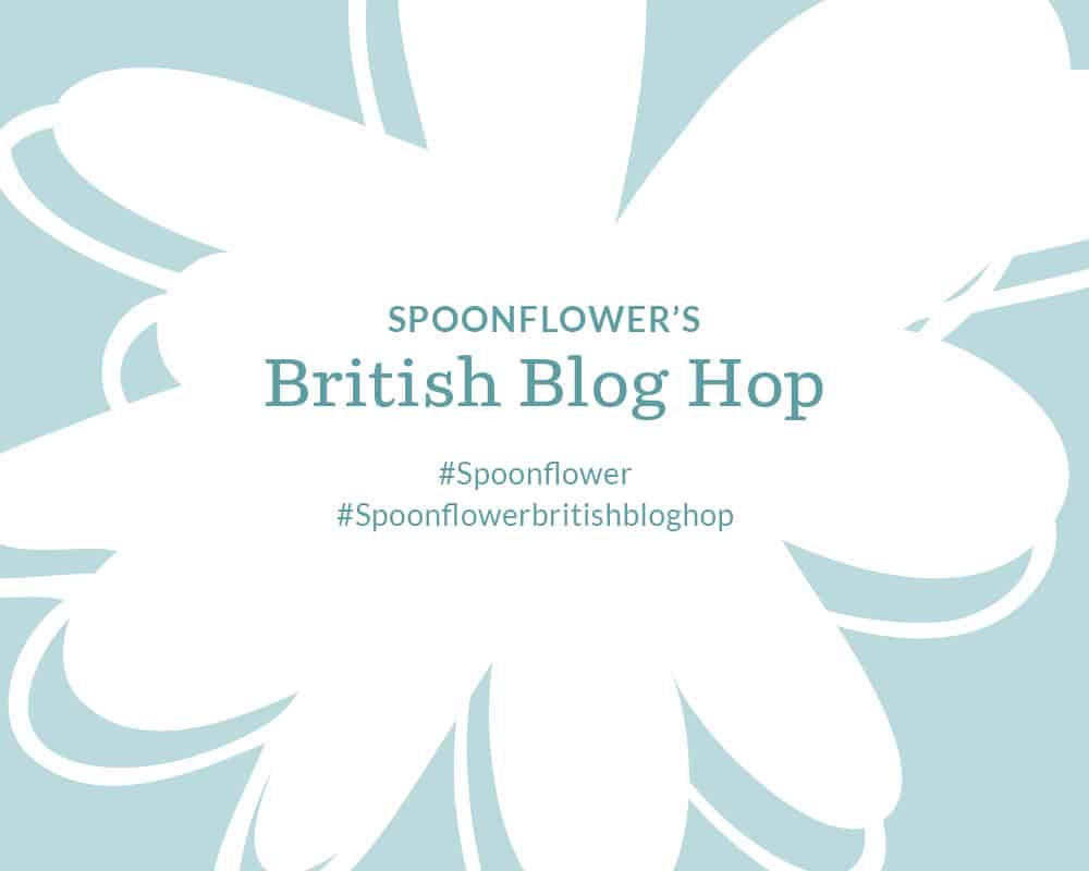 Spoonflower British Blog Hop
