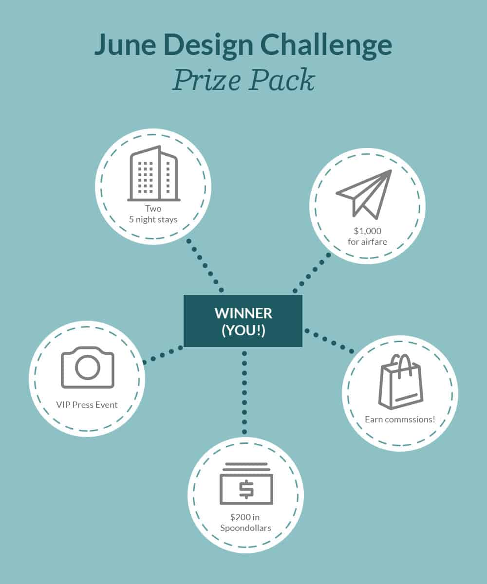 June Design Challenge Prize Pack