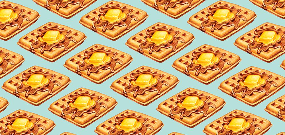 Waffles by Kelly Gilleran