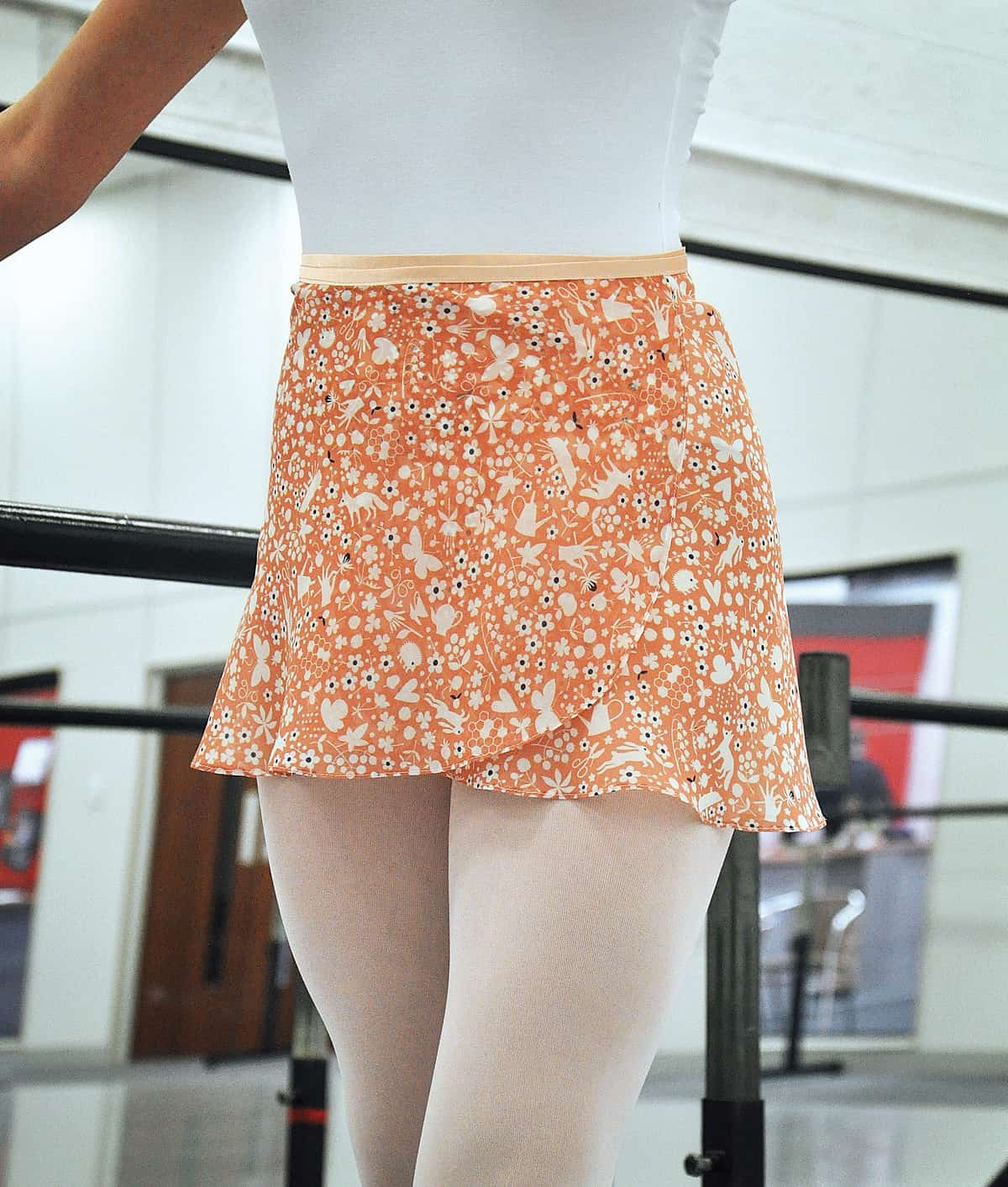 This Diy Chiffon Ballet Skirt Is On Pointe Pattern Included Spoonflower Blog