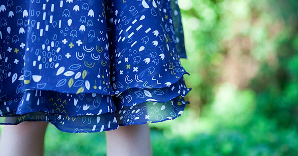 Lumen Chiffon skirt