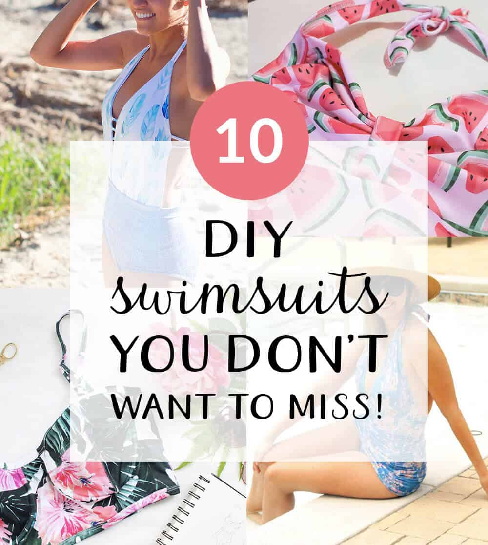 10 Swimsuit DIYS you don't want to miss | Spoonflower Blog