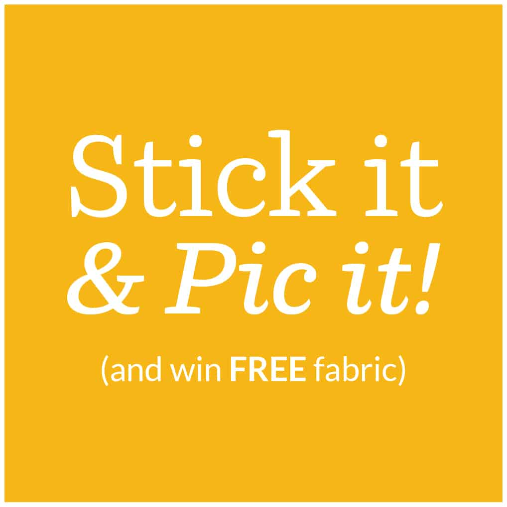 Spoonflower Stick it & Pic it!
