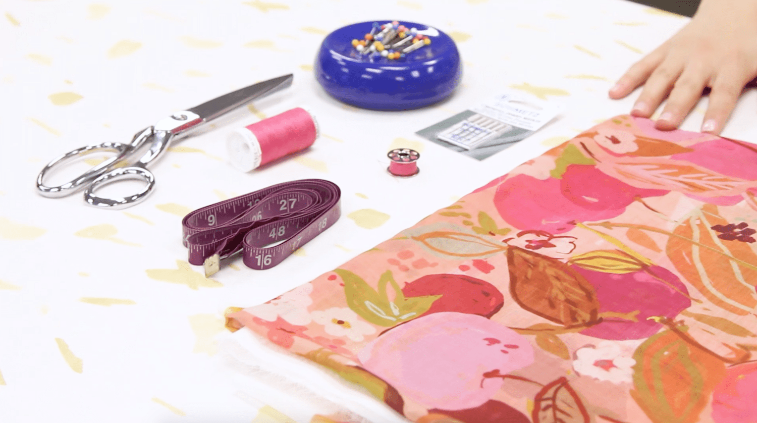 Here's what you'll need to make your Chiffon scarf | Spoonflower Blog