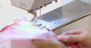 Sewing your hems a second time