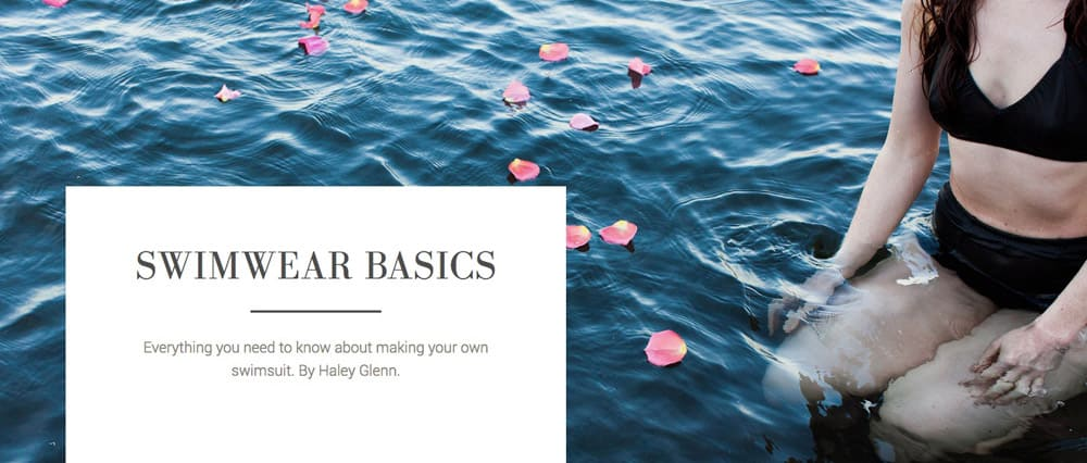 Master the art of swimwear by learning the basics | Spoonflower Blog