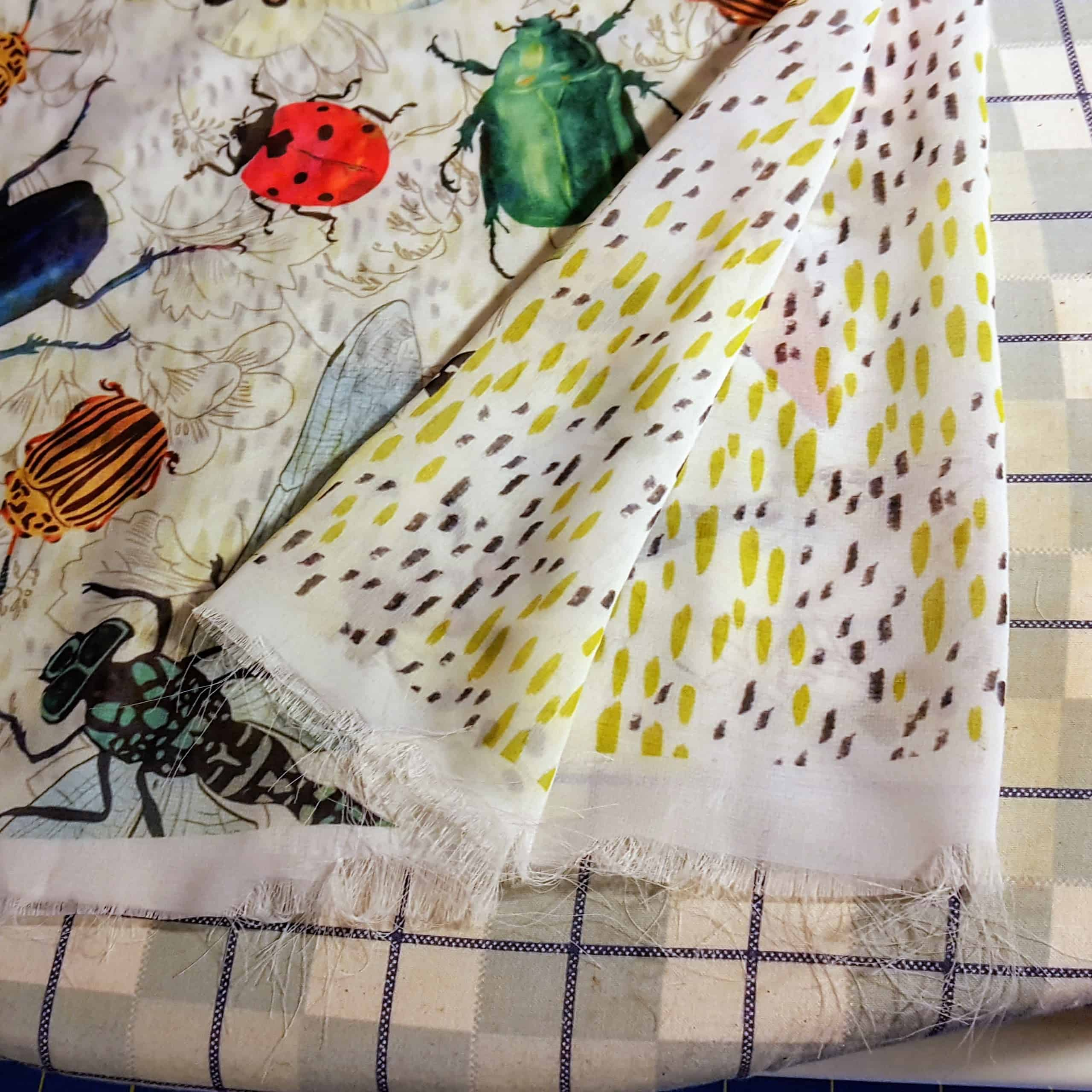 Once your chiffon is pre-washed, you're ready for sewing | Spoonflower Blog