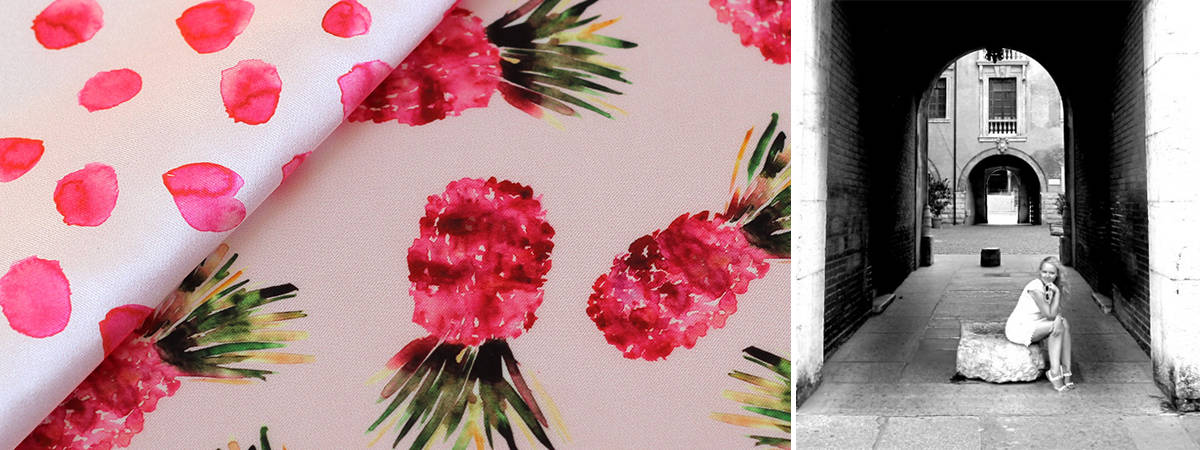 Watercolor Pineapple | Spoonflower Blog