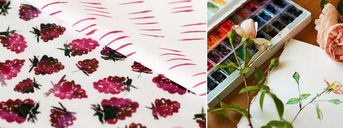 Watercolor Set | Spoonflower Blog