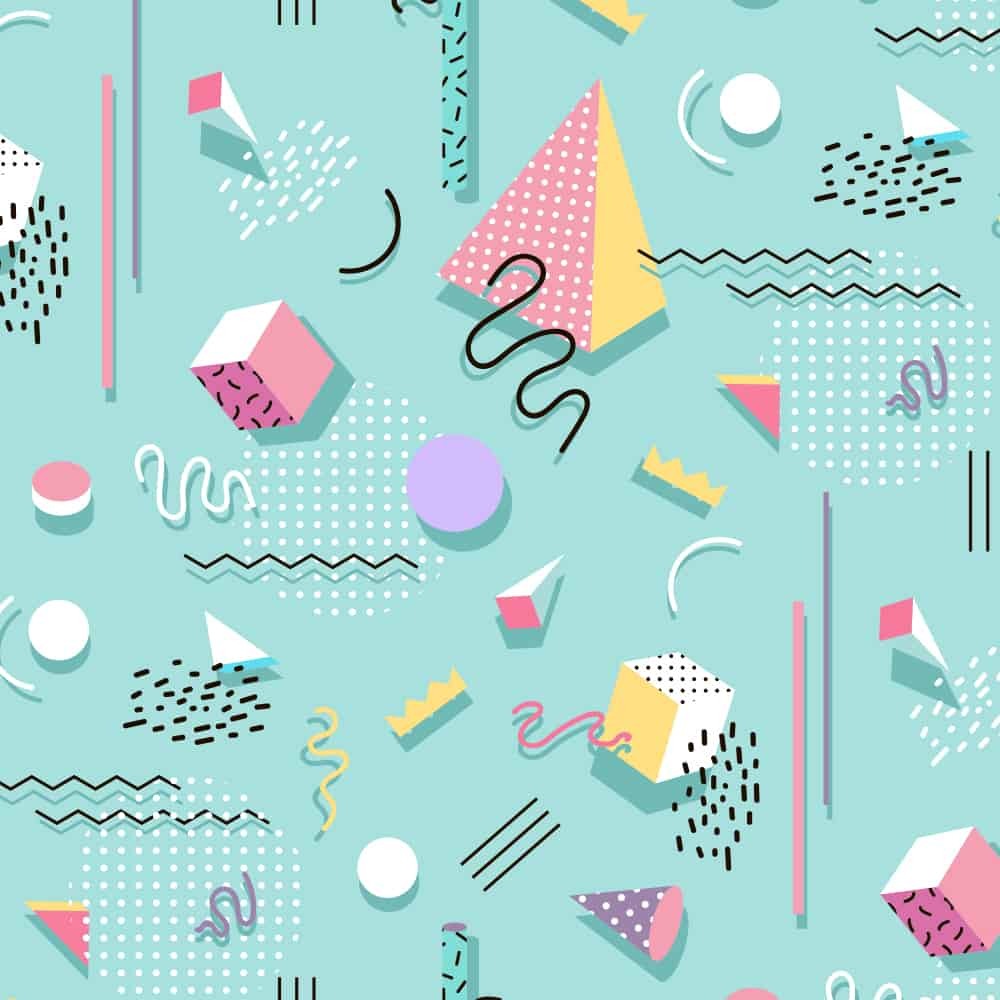 Memphis Style design challenge entries are due by August 22 | Spoonflower Blog