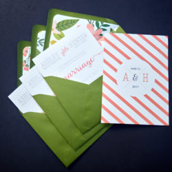 Beautiful DIY Envelope Liners