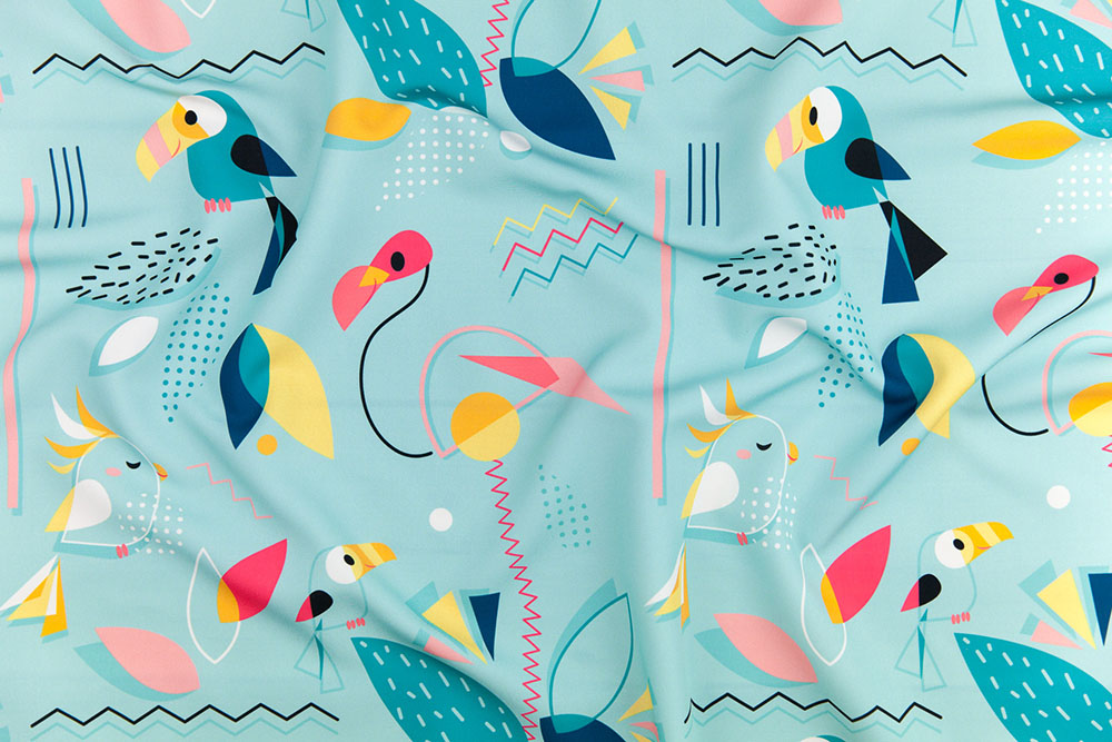 Memphis Bird by elodie-lauret is the grand prize winner in our Memphis Style design challenge!