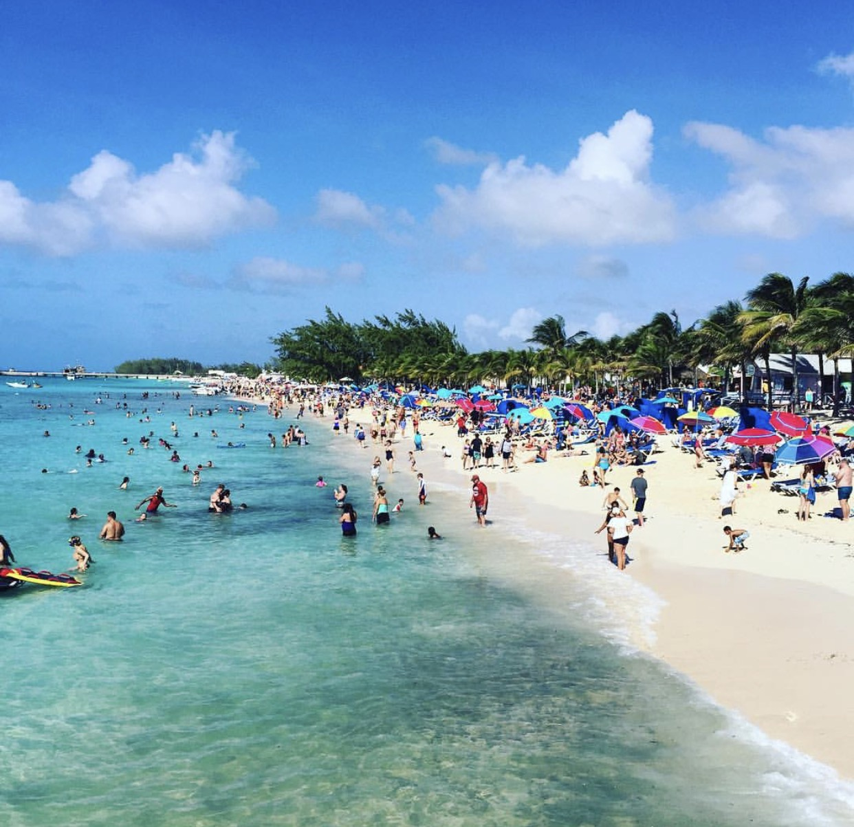 The beach in Grand Turk, another location that inspires Bethany | Spoonflower Blog