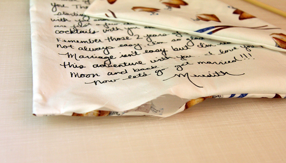 Fold the raw edges of the opening toward the inside | Spoonflower Blog