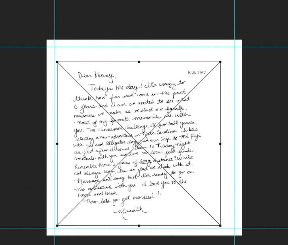 Enlarge the scanned note | Spoonflower Blog