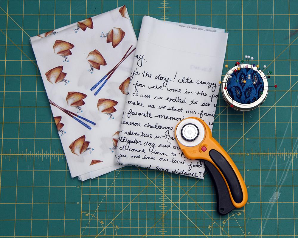 Materials for a DIY Handkerchief | Spoonflower Blog