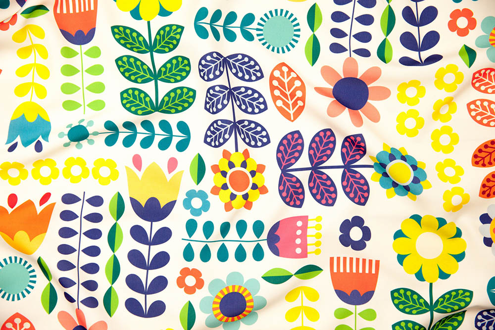 Swedish_Folk_Pattern-03 by enariyoshi is the grand prize winner in our Swedish Folk Art design challenge! | Spoonflower Blog