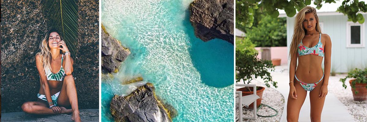 Tropical Lsea Swimwear by Bethany Ledlum | Spoonflower Blog