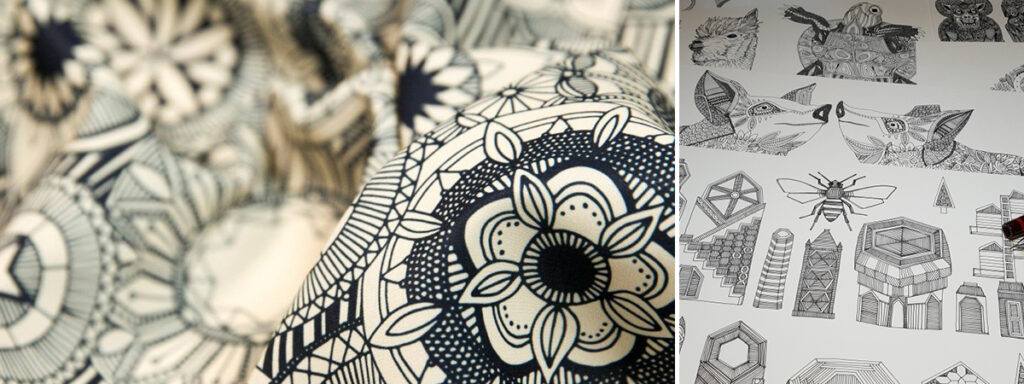 Fabric design by scrummy | Spoonflower Blog