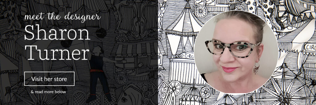 Meet the Designer: Sharon Turner aka scrummy | Spoonflower Blog