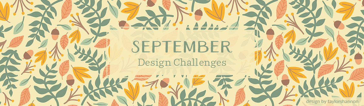 Announcing September's Design Challenge Themes | Spoonflower Blog
