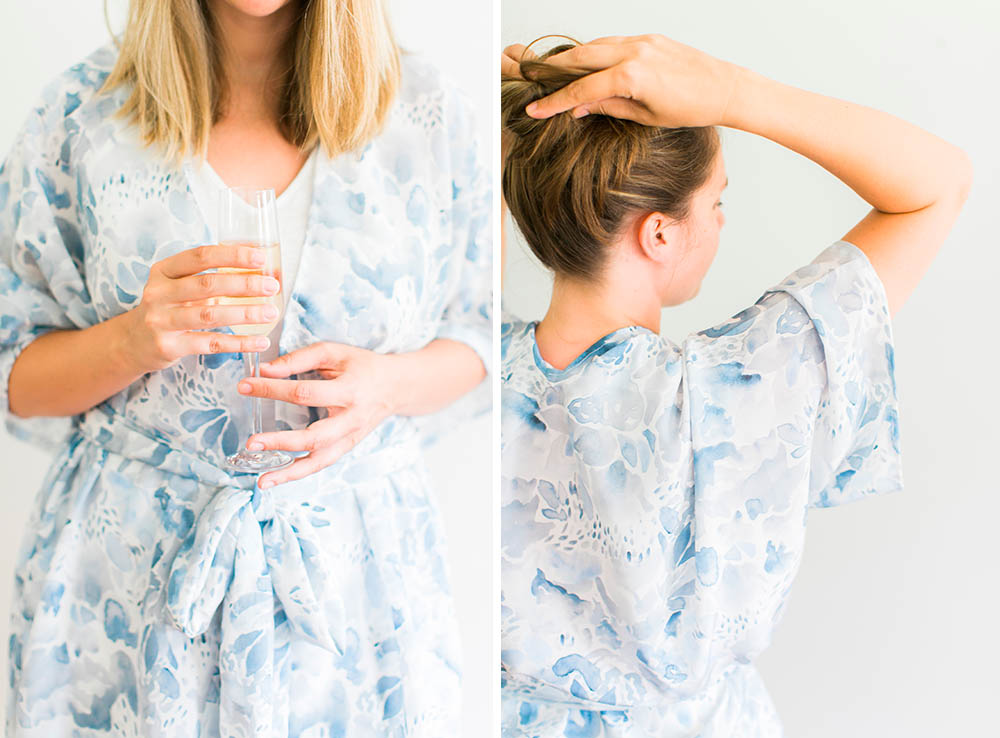 DIY Bridal Party Robes | Spoonflower Blog