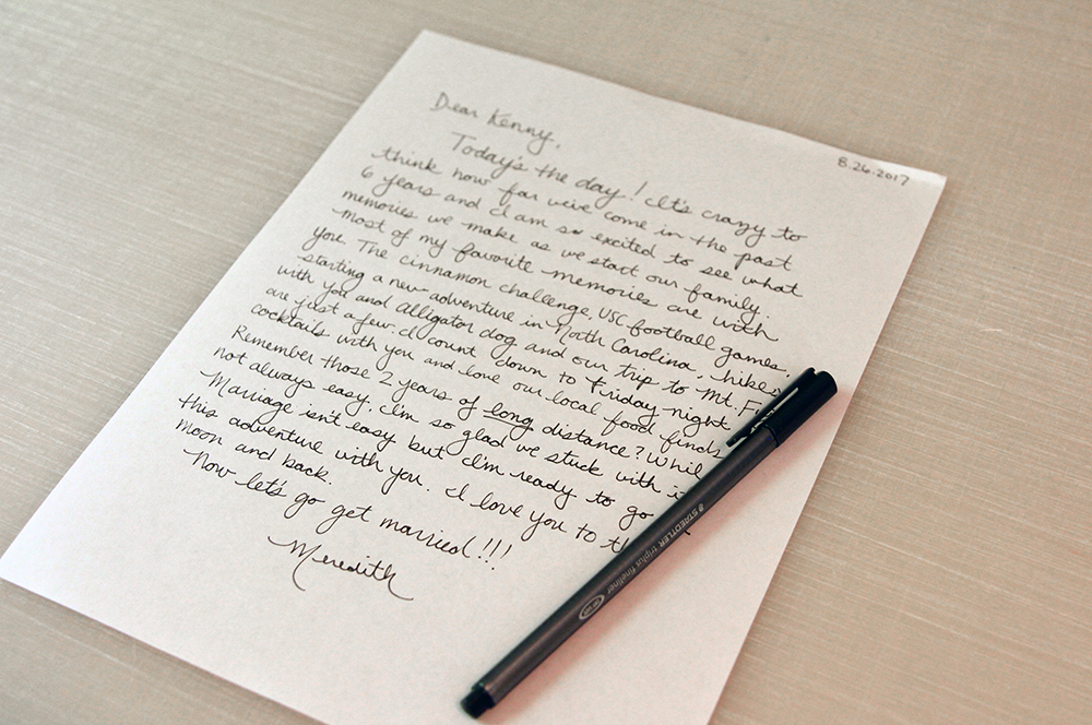 Turn a handwritten love note into a handkerchief | Spoonflower Blog