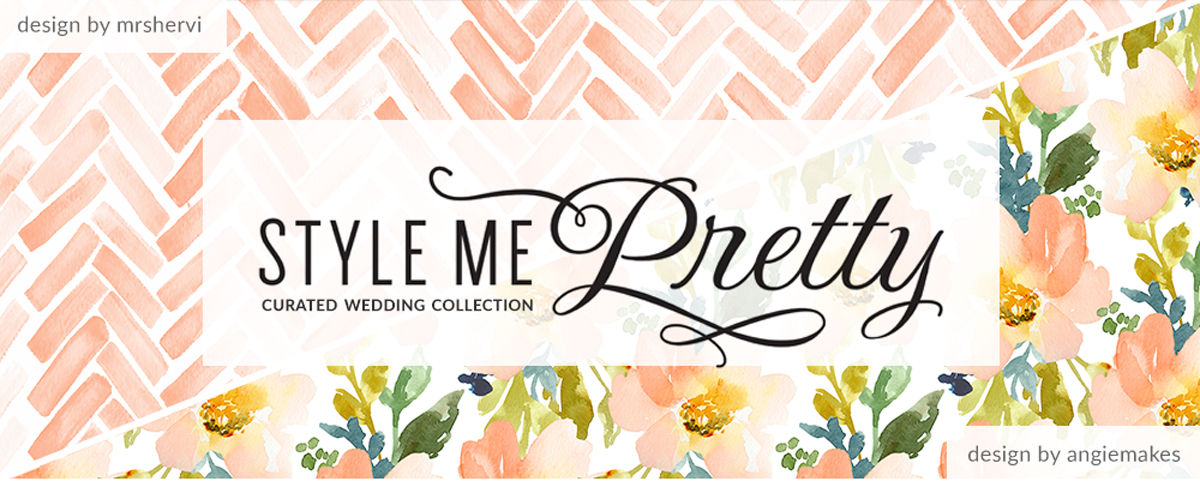 Style Me Pretty Curated Wedding Collection | Spoonflower Blog