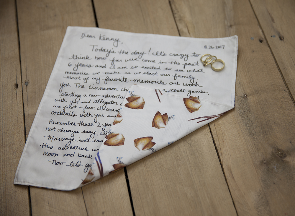 DIY Wedding: Turn a Love Note Into a Keepsake | Spoonflower Blog