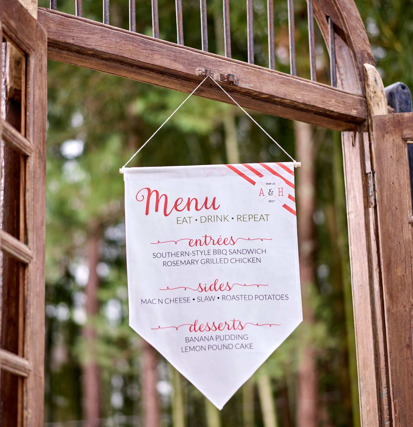Impress your Guests with a DIY Fabric Menu | Spoonflower Blog