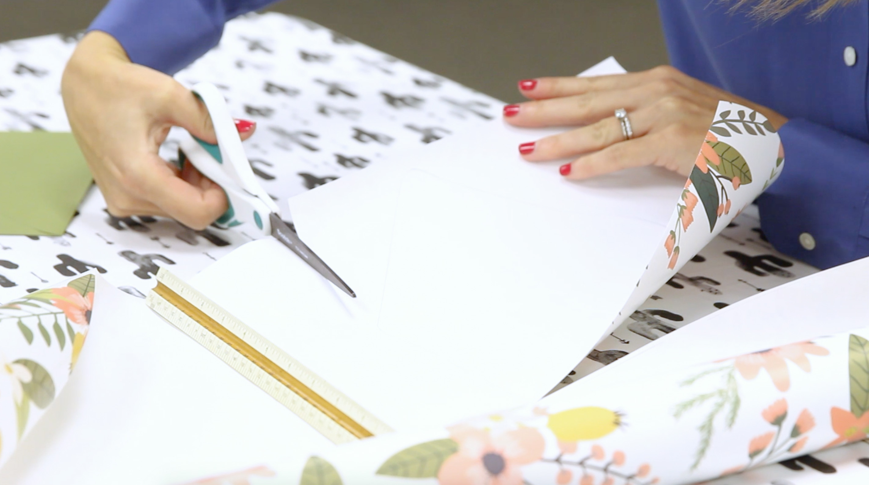 Cutting Out Liner Paper | Spoonflower Blog