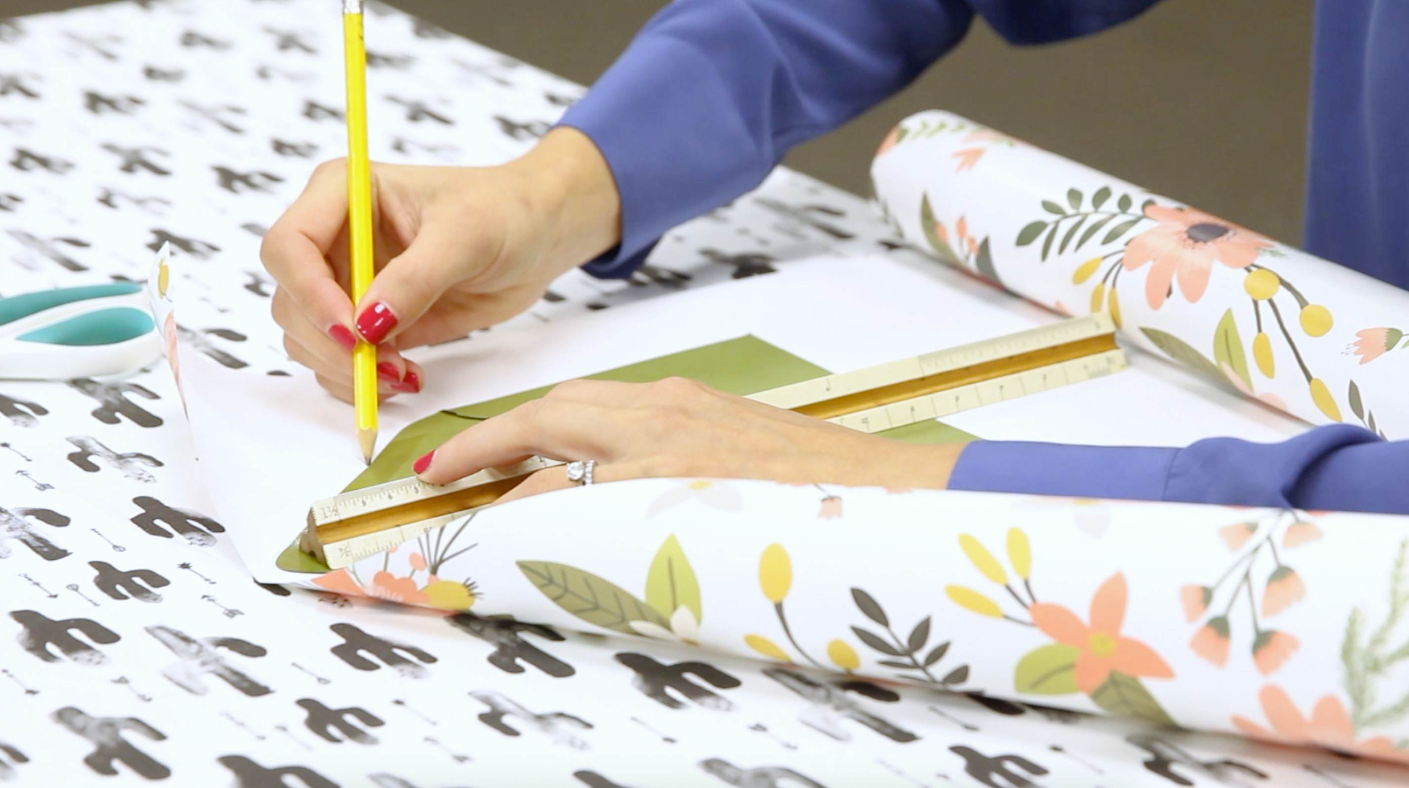 Tracing Envelope Liner | Spoonflower Blog