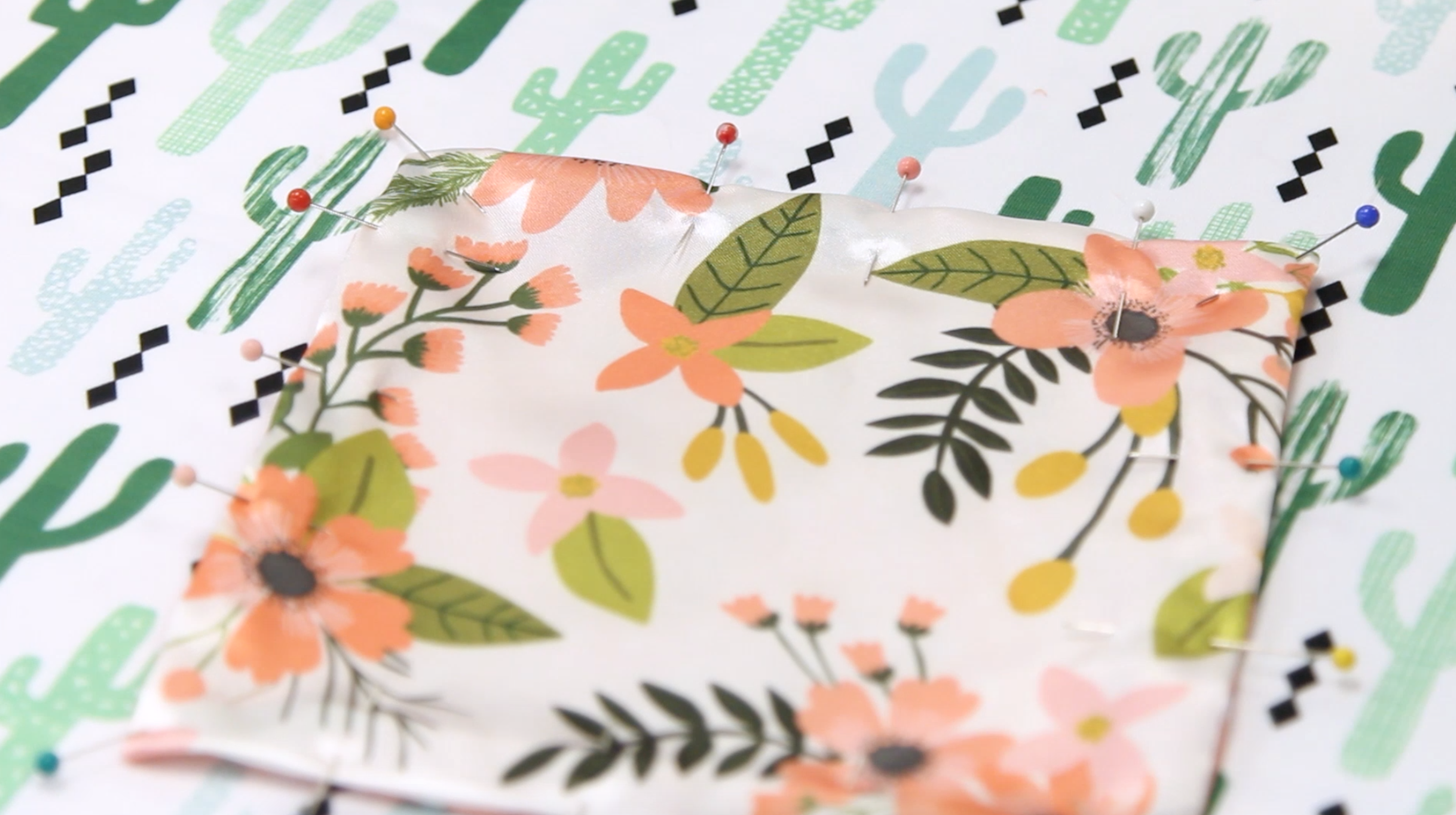 "Top Stitching with a 3/8"" Seam Allowance. 