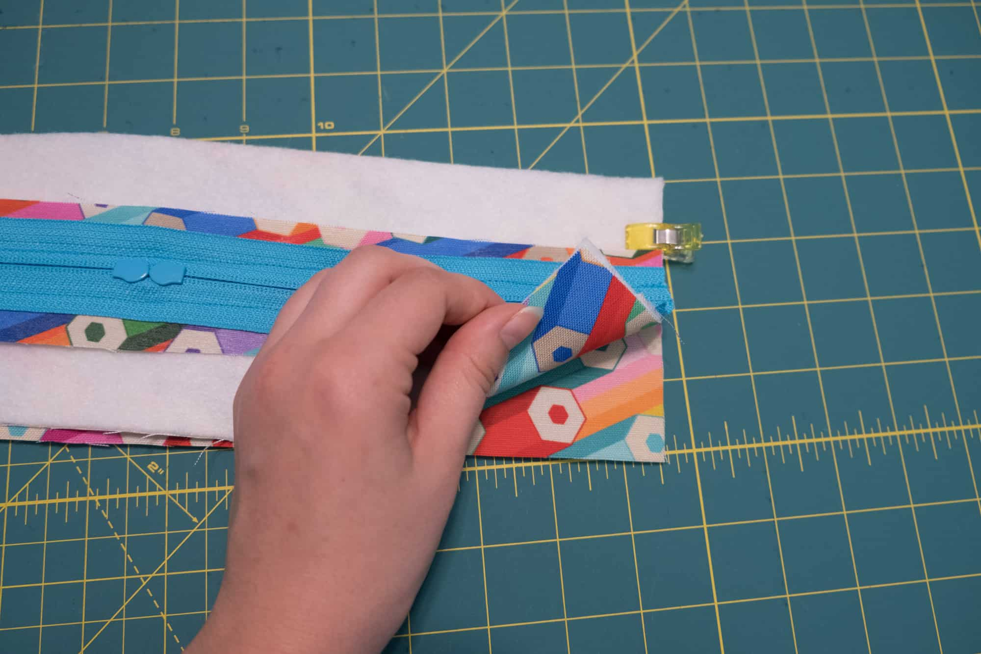 Lay the top panel on the base panel, right sides together | Spoonflower Blog