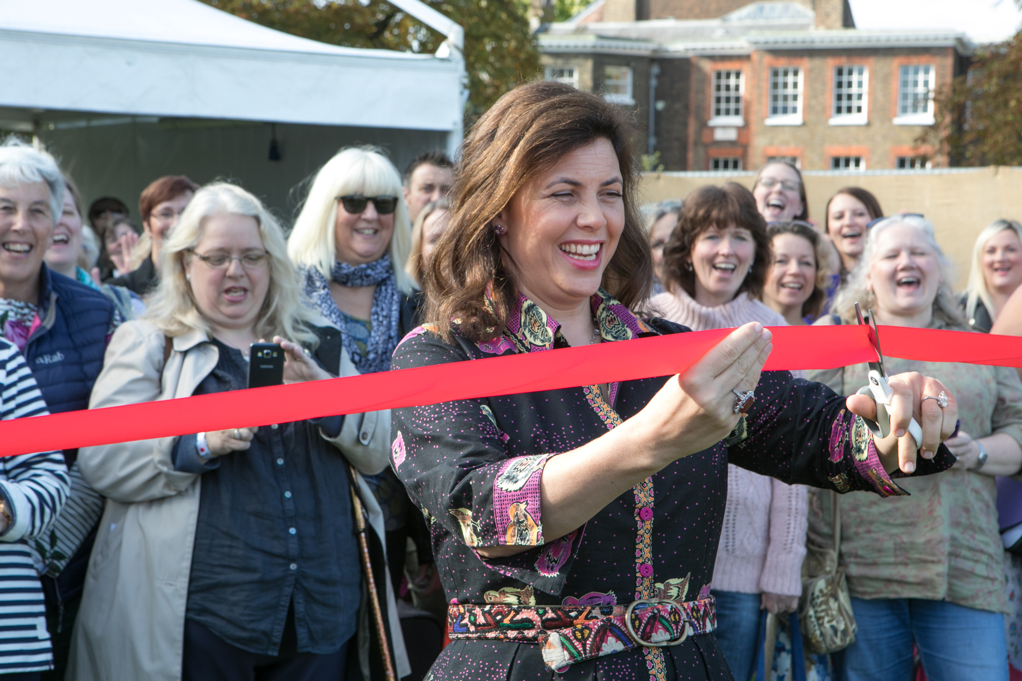 Opening of The Handmade Fair with Kirstie Allsopp | Spoonflower Blog