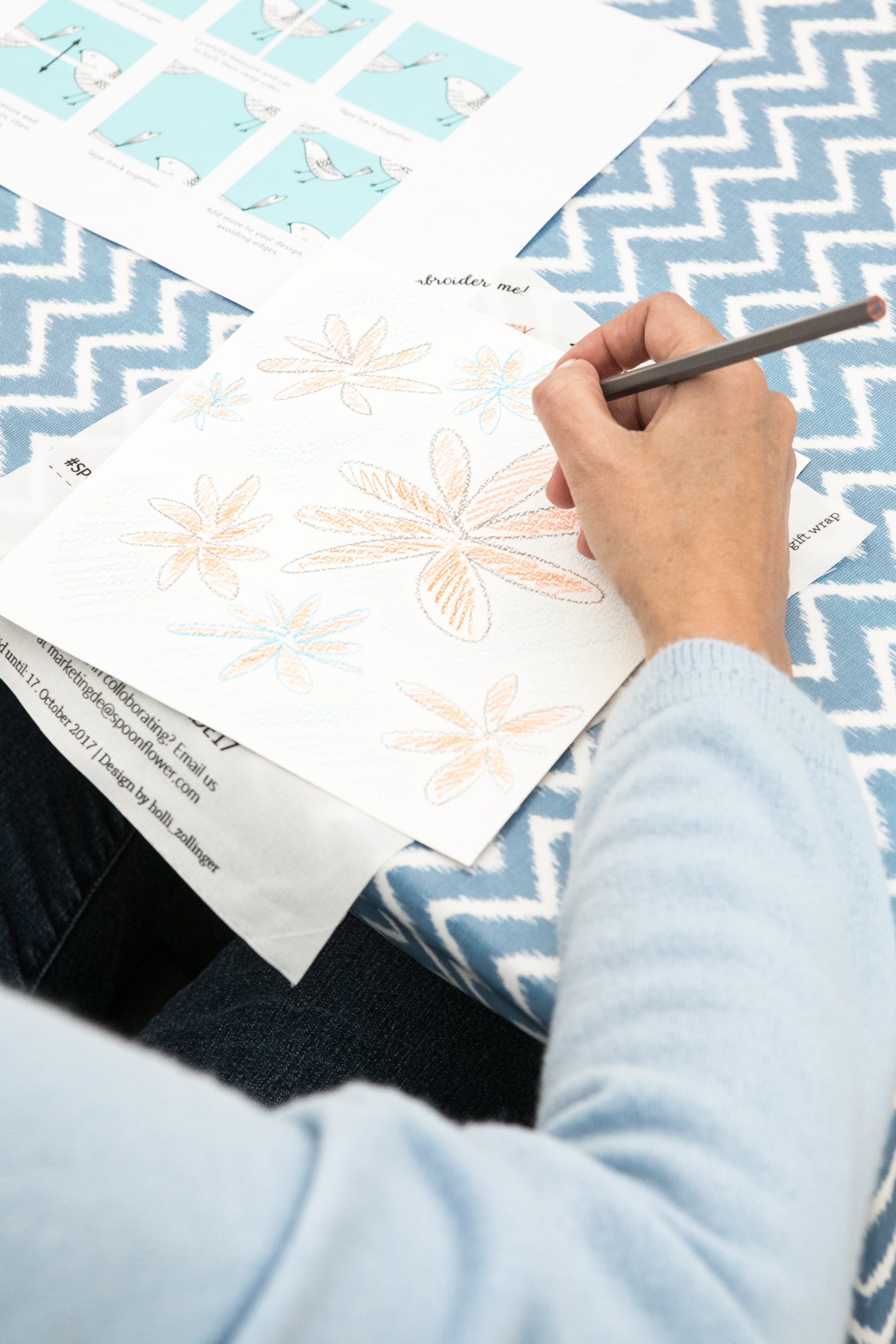 Spoonflower workshop at The Handmade Fair | Spoonflower Blog