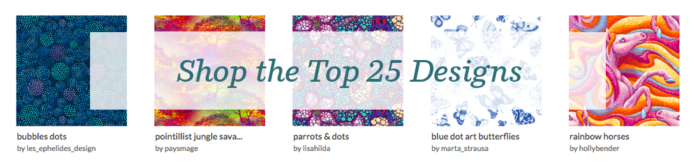 Shop the top 25 Pointillism designs
