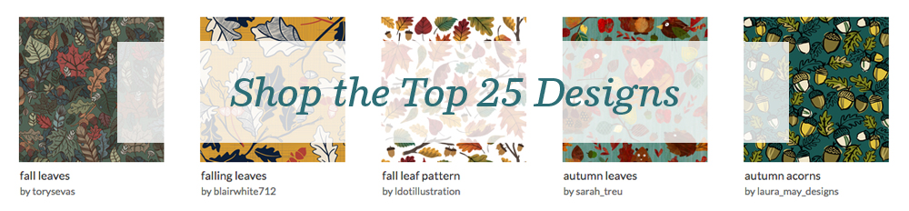 Shop the top 25 Rustic Fall designs | Spoonflower Blog