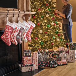 Spoonflower Holiday Stockings