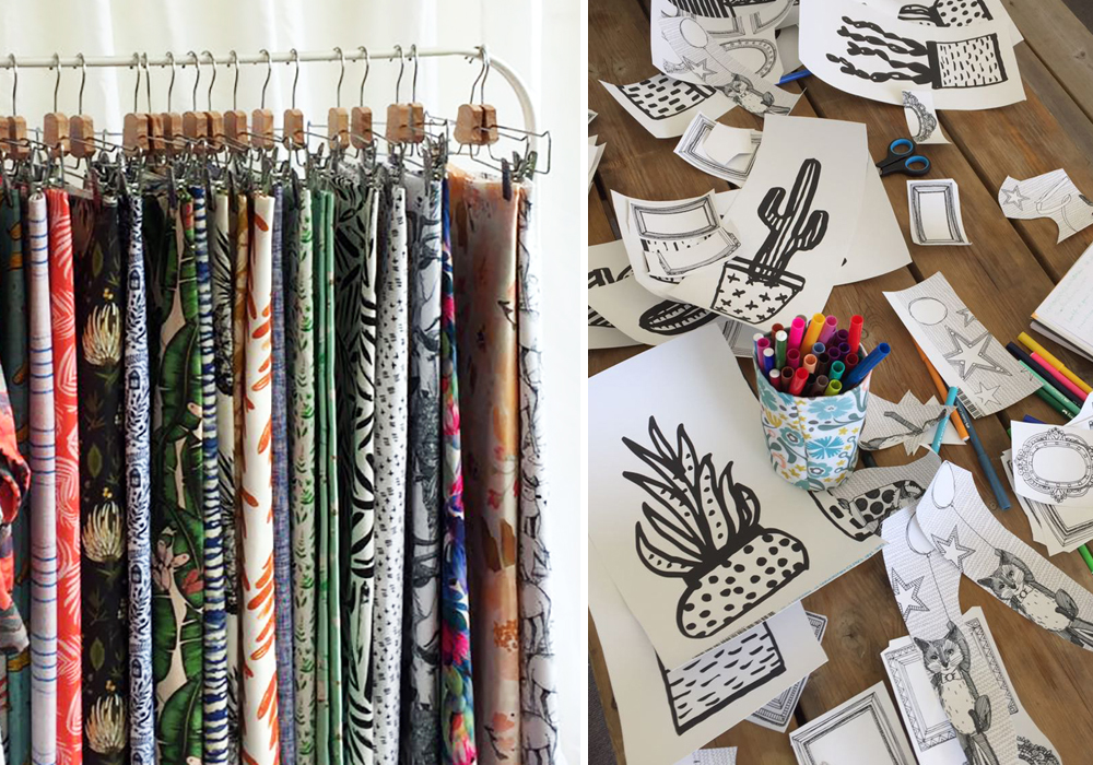 Spoonflower booth at The Handmade Fair | Spoonflower Blog