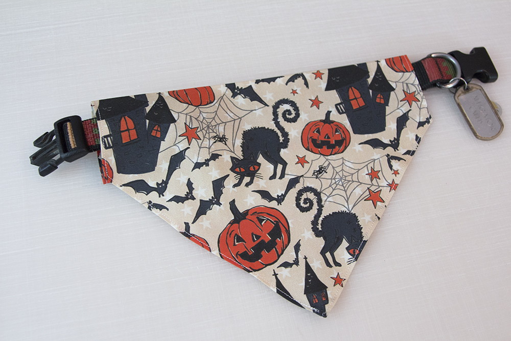 Halloween How-To: DIY Dog Bandanas for Under $3 | Spoonflower Blog