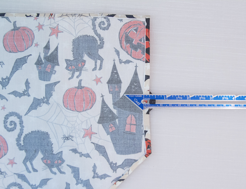 Hem the edges of your bandana | Spoonflower Blog