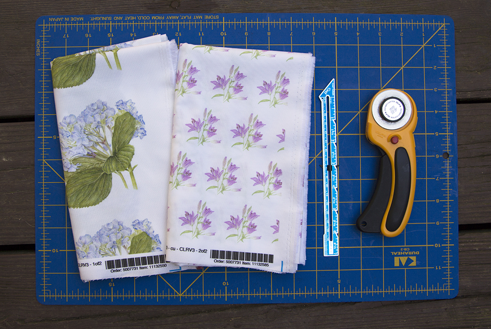 DIY Tiered Apron materials | Spoonflower Blog