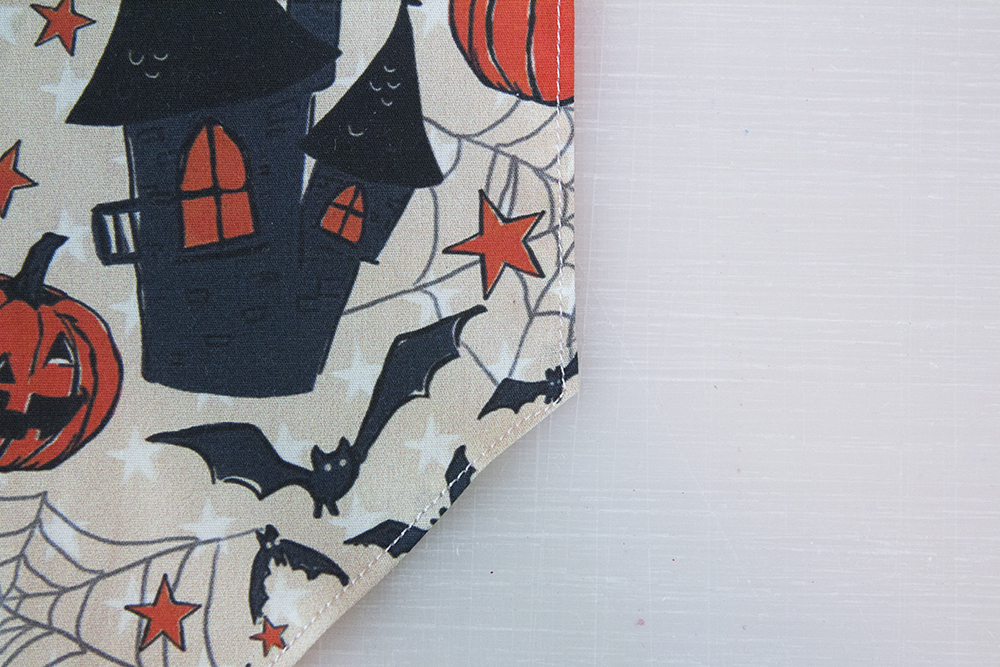 Topstitch the bandana | Spoonflower Blog