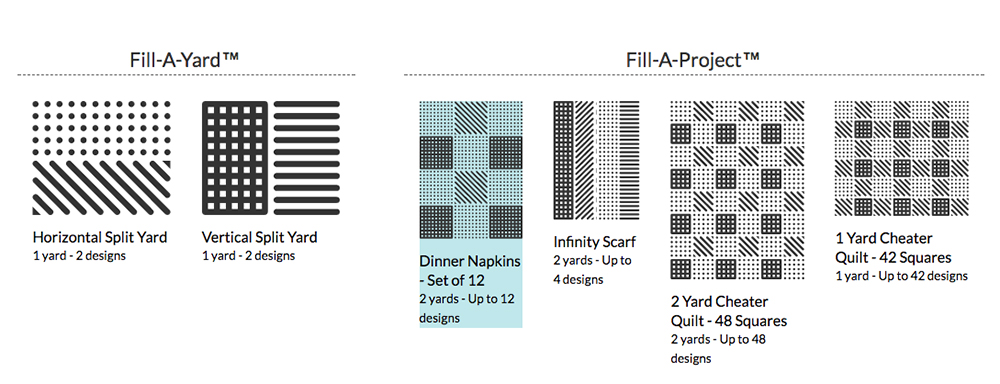 How To: Fill-A-Project Napkin Set | Spoonflower Blog