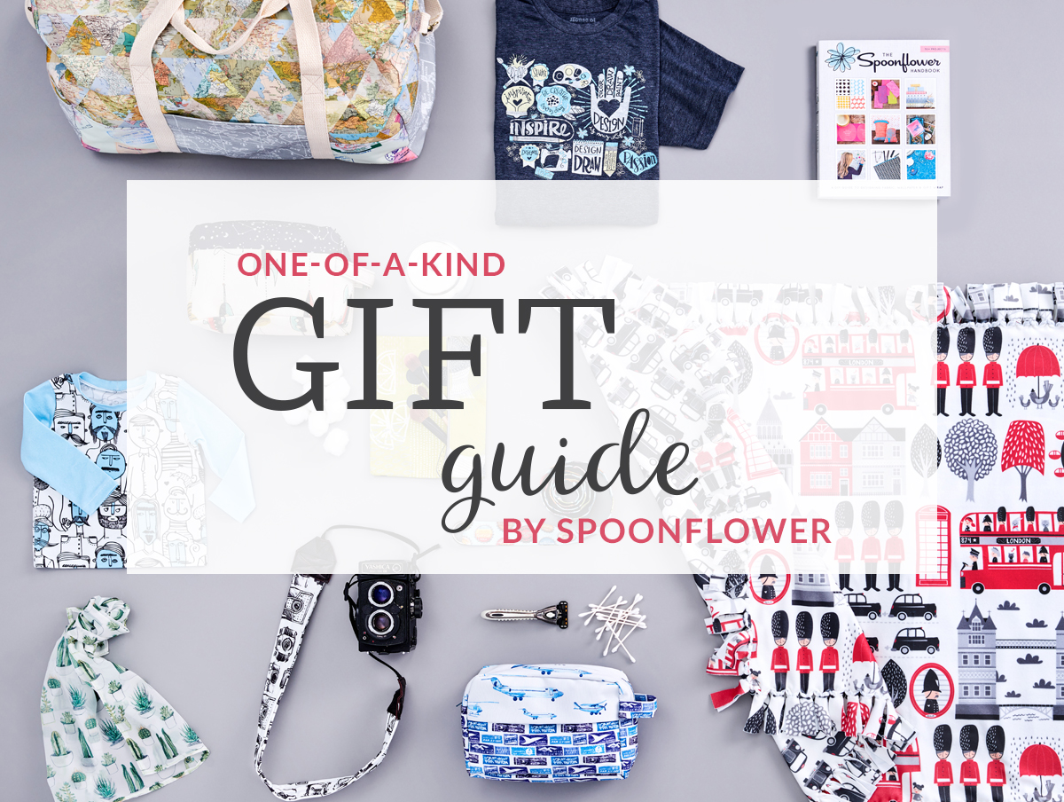 One-of-a-kind DIY gift guide | Spoonflower Blog